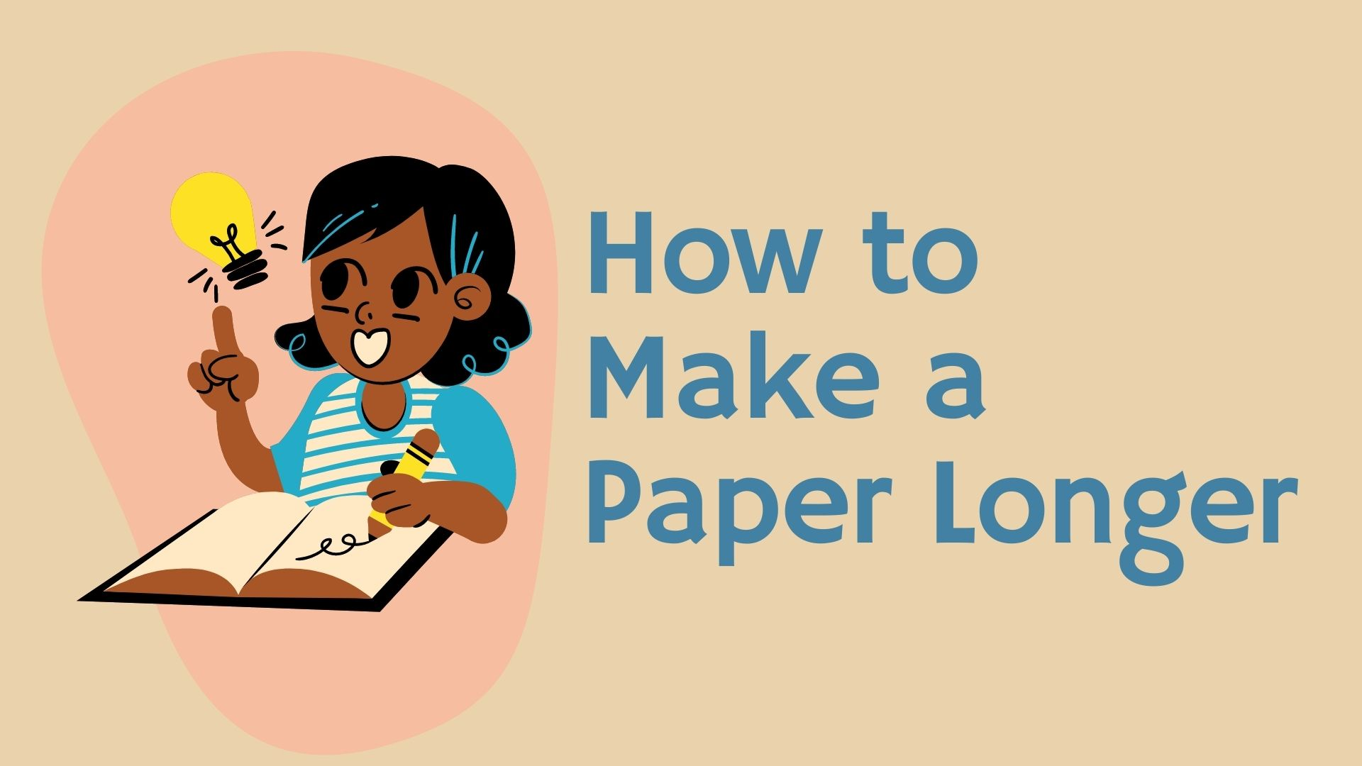 how to make a paper longer